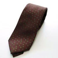 Jacquard Tie/Bordeaux Pattern