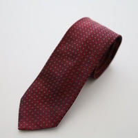 Jacquard Tie/Red Pattern