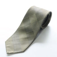Glen Check Tie/Beige