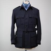 Safari Jacket/Navy Linen