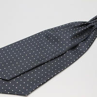 Adamley Ascot Tie/Grey Dot