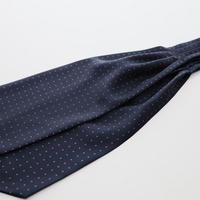 Adamley Ascot Tie/Navy Pattern NVA
