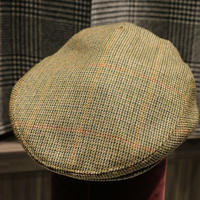 batak Tweed Cap/Over pane