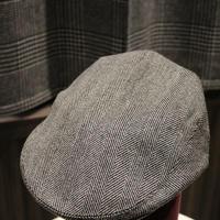 batak Tweed Cap/Grey Herringbone