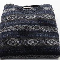 Jamieson's Knit/Fairisle Navy