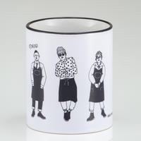 マグカップ(白黒)