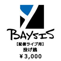 【6/3配信ライブ用】投げ銭3000円