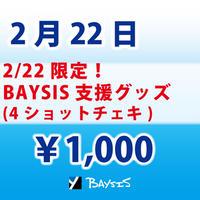 【2/22 限定】BAYSIS支援グッズ(チェキ)