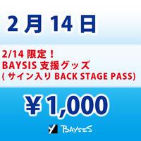 【2/14 限定】BAYSIS支援グッズ