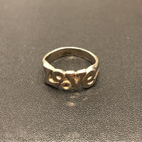"""Sterling Silver Ring"" LOVE"