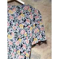 1990年代 CREPE RAYON 花柄ワンピース