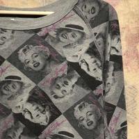 Marilyn Monroeリバーシブルスウェットシャツ