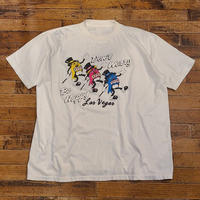 1980's~ Gambling T-Shirt SIZE : L