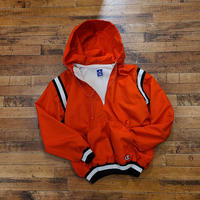 "1990's ""champion"" Half Zip Nylon Jacket SIZE : S"