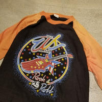 "1980's ""US Festival"" Raglan Sleeve Tee SIZE : M"