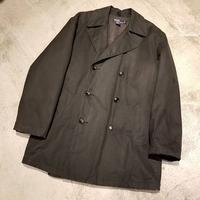 "1990's ""Polo by Ralph Lauren"" Oiled Cotton Pea Coat SIZE : L"