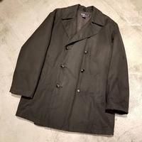 "1990's ""Polo by Ralph Lauren"" Oiled Cotton Pea Coat SIZE : L"