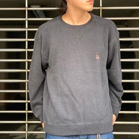 """""""Tommy Hilifiger"""" Cotton Knit Tops SIZE : L"""