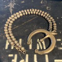 "1950's ""Navajo"" Naja Necklace SIZE : 全長54cm"