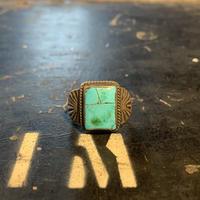 "1970's ""Navajo"" Vintage Silver Ring SIZE : 14号"
