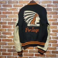 """1960's """"BUTWEN"""" Stadium Jacket SIZE : 42"""