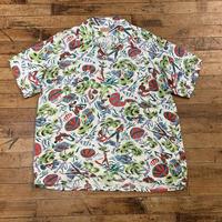 """~1950's """"ISSA'S LTD"""" Hawaiian Shirt SIZE : M"""