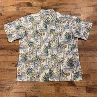 "1990's ""reyn spooner"" Aloha Shirt SIZE : L"