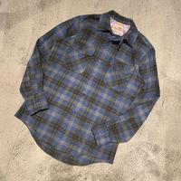 "1960's ""LEVI'S"" Wool Shirt SIZE : M"