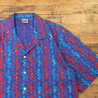 "1990's ""NIKE"" Short Sleeve Shirt SIZE : L"