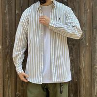 """1990's """"Ralph Lauren"""" B/D Cotton Broad Shirt SIZE : M"""