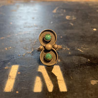 "~1930's ""Navajo"" Vintage Silver Ring SIZE : 8.5号"