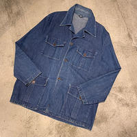 "1960's ""Unknown"" Denim Coverall SIZE : 42"
