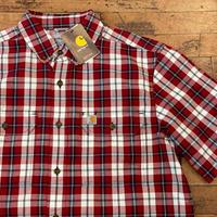 """New """"Carhartt"""" Short Sleeve Shirt SIZE : M,L"""
