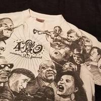 "1990's "" Monterey Jazz Festival "" 40 Legendary Years Tee SIZE : M"