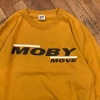 "1990's ""MOBY"" L/S Tee SIZE : XL"
