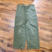 """1950's~ """"U.S.Military"""" M-51 Field Pants SIZE : W34 L28"""
