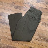 """1970's """"U.S.Military"""" Wool Trousers SIZE : 34S"""