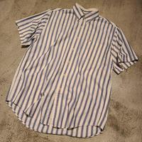 """~2000's """"CHAPS"""" Ralph Lauren  S/S Shirt SIZE : L"""