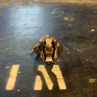 """1966's """"Unknown"""" 10K Gold College Ring SIZE : 21.5号"""