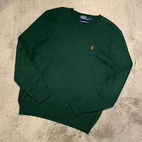 "1990's ""Polo by Ralph Lauren"" Cotton Knit Sweater SIZE : L"