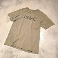 "~2000's ""USMC"" Short Sleeve Tee SIZE : L"
