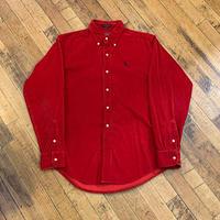 "1990's ""Polo by Ralph Lauren"" Corduroy Shirt SIZE : S,M"