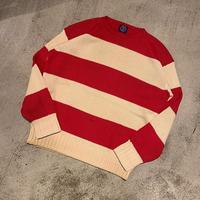 "1990's ""Gap"" Cotton Knit Sweater SIZE : L"
