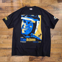 """""""The Friends of Steve McQueen"""" Car & Motorcycle Show 2015 S/S T-Shirt SIZE : XL"""