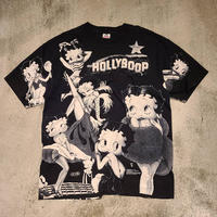 """1990's """"BETTY BOOP"""" HollyBoop S/S Tee SIZE : XL"""