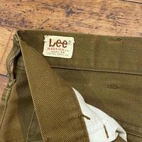 "1970's ""Lee"" Cotton × Polyester Pants SIZE : W32 L29"