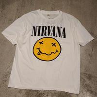 "New ""Nirvana"" S/S Tee SIZE : L"