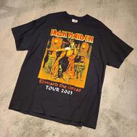 """2000's """"IRON MAIDEN"""" Tour Tee SIZE : XL"""