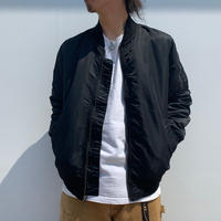 "New ""STUSSY"" WASHED FLIGHT SATIN BOMBER SIZE : M"