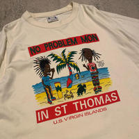 """1990's """"Unknown"""" Short Sleeve Tee SIZE : XL"""